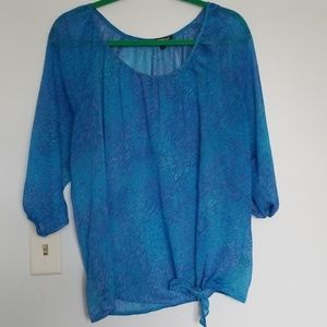 Womens shear top size large